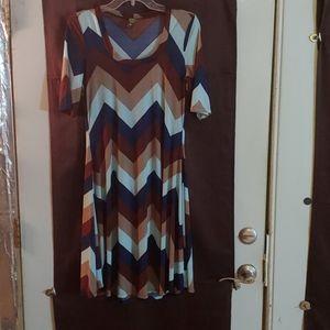 24/7 Comfort Apparel Dresses - XL SWING DRESS